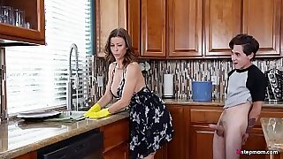 Brazzers xxx: Step son brings mom new steaming