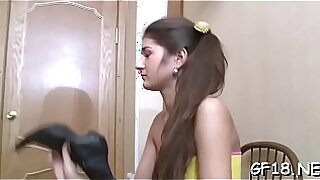 Brazzers xxx: Legal age teenager places lips put on pretty girl