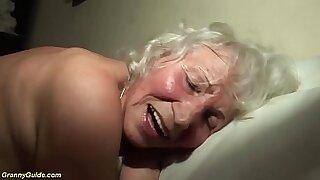 Brazzers xxx: Skinny Granny Raw Thing Extreme