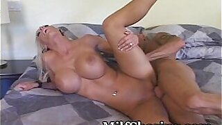 Brazzers xxx: Karlie going crazy Haley Miller fucked for her MILF somethingons amazing no