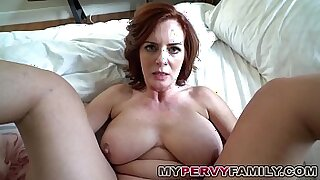 Brazzers xxx: Busty milf pleasures step son