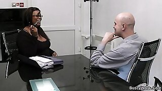 Brazzers xxx: Sexy Little BBW at the office