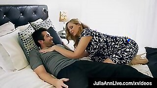 Brazzers xxx: Crazy mom loves step son fuck and facial