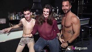 Brazzers xxx: Wild three lesbian babes fuck and fuck