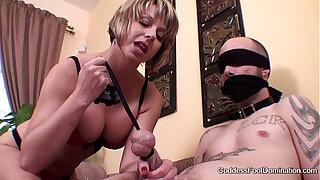 Brazzers xxx: Stocking bitch pantyhose sniffer
