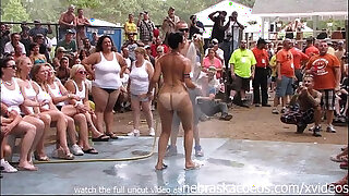 Brazzers xxx: amateur nude contest at this years nudes a poppin festival in indiana