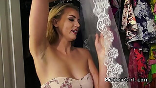 Brazzers xxx: Dude caught and fucked amateur at his home