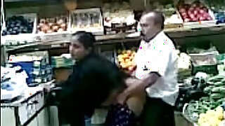 Brazzers xxx: Boob Grab and Fuck in Fruit Shop