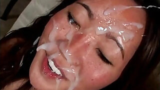 Brazzers xxx: Cumpilation of huge loads on cute faces