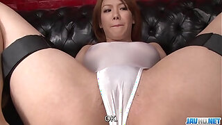 Brazzers xxx: Subtitles Japanese beauty gets his dick in her nice pussy