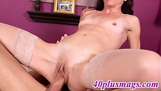Brazzers xxx: Amazing small tit mature pussy fucked