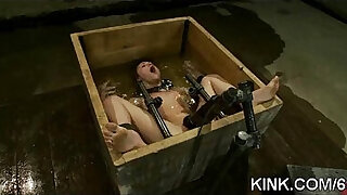 Brazzers xxx: Hot pretty babe punished and fucked in bondage