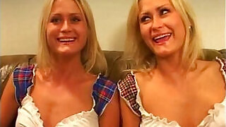 Brazzers xxx: Ignorant twins will learn how to survive in london