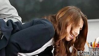 Brazzers xxx: Teacher drills schoolgirl