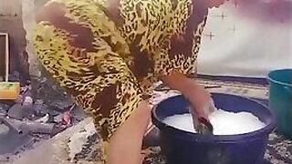 Brazzers xxx: Thick African Booty Twerk