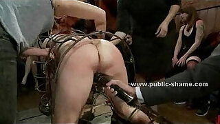 Brazzers xxx: Brunette has her cunt fisted