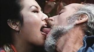 Brazzers xxx: Old man fucks younng retro lady