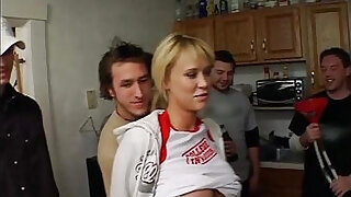 Brazzers xxx: Wild Time At The Frat Party