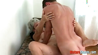 Brazzers xxx: grandma knows how to fuck cock
