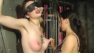 Brazzers xxx: Foxy tattooed bimbo likes being spanked really hard by her dominatrix