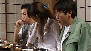 Brazzers xxx: Asakawa Rei Jerks Off Her Dates Under The Dinner Table