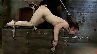 Brazzers xxx: Sex slave bondage spanking and fucking