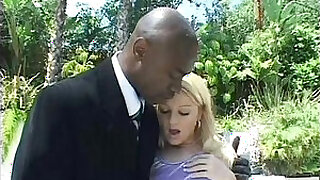 Brazzers xxx: blonde teen anal and double penetration with two big black dicks