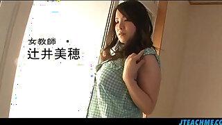 Brazzers xxx: Perfect classroom Japan porn video with Miho Tsujii