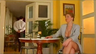 Brazzers xxx: First class mature sexy lady fucked by lucky waiter
