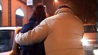 Brazzers xxx: Woman walked out of a club, carried in a car and forced to fuck!