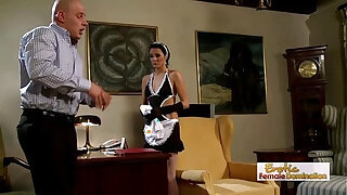 Brazzers xxx: Dirty Babe Dressed Like A Maid Gets Rammed