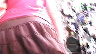 Brazzers xxx: Upskirt Fly Skirt