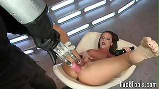Brazzers xxx: Solo masturbating babe toys pussy and ass