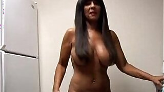 Brazzers xxx: amateur busty cougar fucks her old man