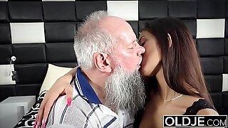 Brazzers xxx: Sexy and naughty step daddys cumshot