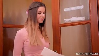 Brazzers xxx: Straight juvenile college teens get his tight ass fucked