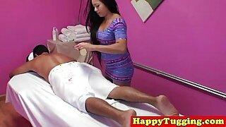 Brazzers xxx: Horny Asian Nuru Massage and Handjob