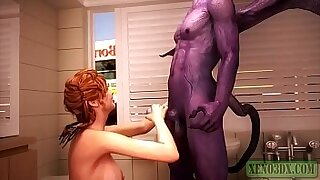 Brazzers xxx: Fucking With His Monster Slut Wife