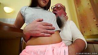 Brazzers xxx: Grandpa Jill Staff Sexo Rene 25