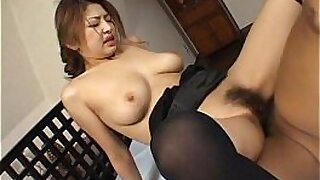 Brazzers xxx: Bigboobed Japanese babe does a facial